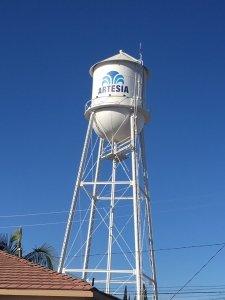 Artesia Water Tower Tank